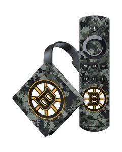Boston Bruins Camo Amazon Fire TV Skin