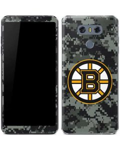 Boston Bruins Camo LG G6 Skin