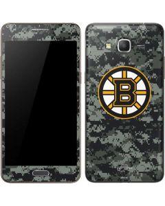 Boston Bruins Camo Galaxy Grand Prime Skin