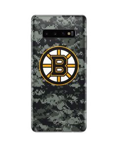 Boston Bruins Camo Galaxy S10 Plus Skin