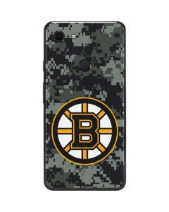 Boston Bruins Camo Google Pixel 3 XL Skin