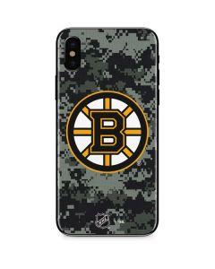 Boston Bruins Camo iPhone XS Skin