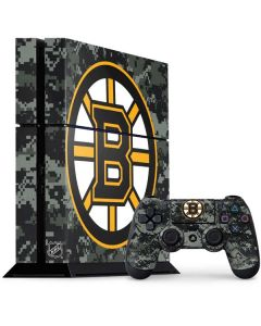Boston Bruins Camo PS4 Console and Controller Bundle Skin