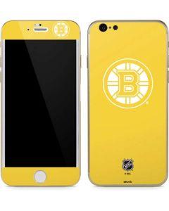 Boston Bruins Color Pop iPhone 6/6s Skin