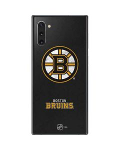 Boston Bruins Distressed Galaxy Note 10 Skin