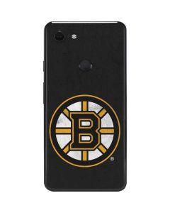 Boston Bruins Distressed Google Pixel 3 XL Skin