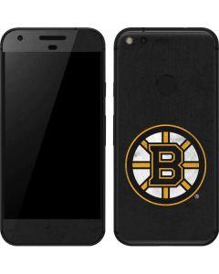 Boston Bruins Distressed Google Pixel Skin