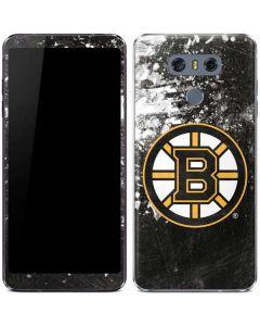 Boston Bruins Frozen LG G6 Skin