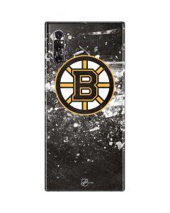 Boston Bruins Frozen Galaxy Note 10 Skin