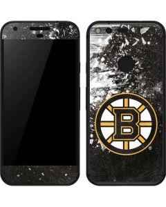 Boston Bruins Frozen Google Pixel Skin