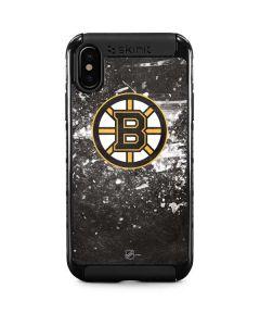 Boston Bruins Frozen iPhone XS Cargo Case
