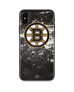 Boston Bruins Frozen iPhone XS Skin