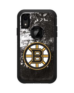 Boston Bruins Frozen Otterbox Defender iPhone Skin