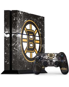 Boston Bruins Frozen PS4 Console and Controller Bundle Skin