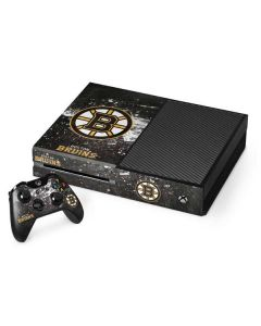 Boston Bruins Frozen Xbox One Console and Controller Bundle Skin