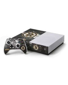 Boston Bruins Frozen Xbox One S Console and Controller Bundle Skin