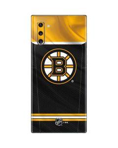 Boston Bruins Home Jersey Galaxy Note 10 Skin