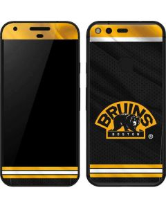 Boston Bruins Home Jersey Google Pixel Skin
