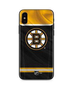 Boston Bruins Home Jersey iPhone XS Skin