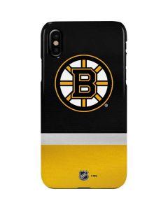 Boston Bruins Jersey iPhone XS Max Lite Case