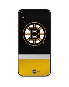 Boston Bruins Jersey iPhone XS Skin