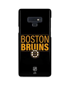 Boston Bruins Lineup Galaxy Note 9 Lite Case