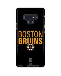 Boston Bruins Lineup Galaxy Note 9 Pro Case