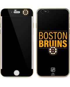 Boston Bruins Lineup iPhone 6/6s Skin