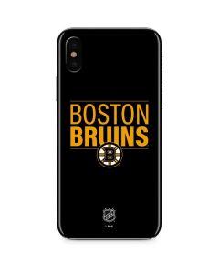 Boston Bruins Lineup iPhone XS Skin