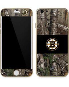 Boston Bruins Realtree Xtra Camo iPhone 6/6s Skin