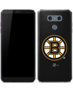 Boston Bruins Solid Background LG G6 Skin