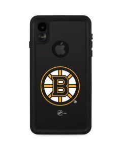 Boston Bruins Solid Background iPhone XR Waterproof Case
