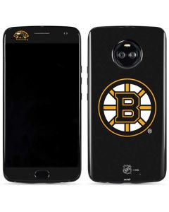 Boston Bruins Solid Background Moto X4 Skin