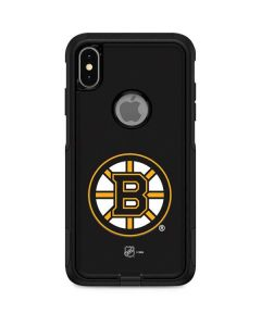 Boston Bruins Solid Background Otterbox Commuter iPhone Skin