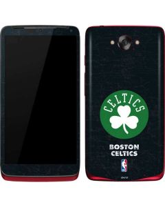Boston Celtics Black Secondary Logo Motorola Droid Skin