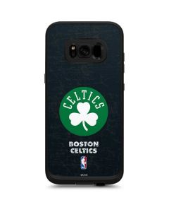 Boston Celtics Black Secondary Logo LifeProof Fre Galaxy Skin
