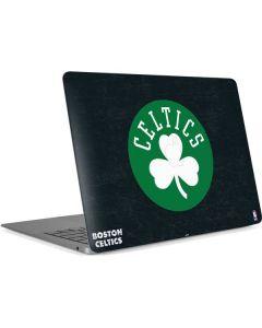 Boston Celtics Black Secondary Logo Apple MacBook Air Skin