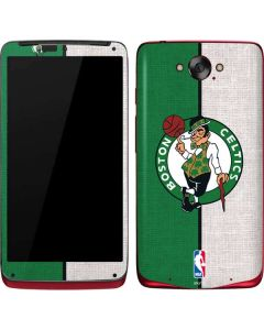 Boston Celtics Canvas Motorola Droid Skin