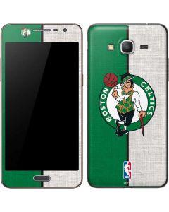 Boston Celtics Canvas Galaxy Grand Prime Skin