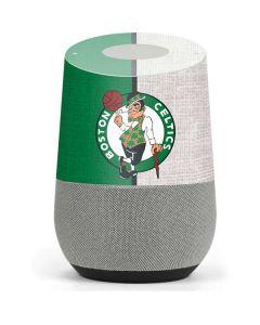 Boston Celtics Canvas Google Home Skin