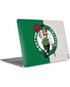 Boston Celtics Canvas Apple MacBook Air Skin