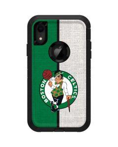 Boston Celtics Canvas Otterbox Defender iPhone Skin