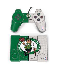 Boston Celtics Canvas PlayStation Classic Bundle Skin