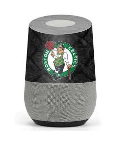 Boston Celtics Dark Rust Google Home Skin