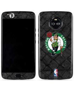 Boston Celtics Dark Rust Moto X4 Skin