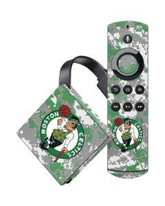 Boston Celtics Digi Camo Amazon Fire TV Skin
