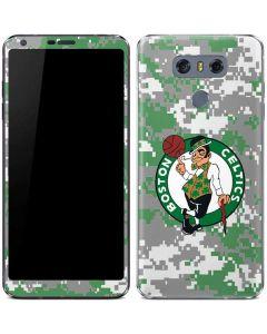 Boston Celtics Digi Camo LG G6 Skin