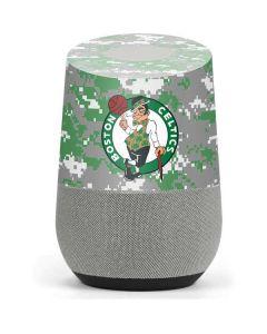 Boston Celtics Digi Camo Google Home Skin