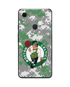 Boston Celtics Digi Camo Google Pixel 3 XL Skin