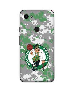 Boston Celtics Digi Camo Google Pixel 3a Skin